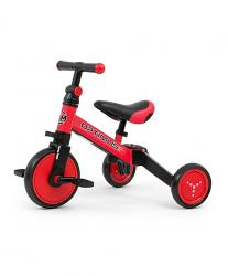 Milly Mally Ride On – Bike 3in1 OPTIMUS Red