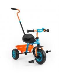 Milly Mally Tricycle Turbo Orange-Turquise