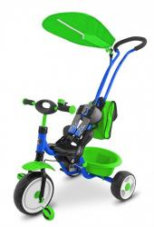 Milly Mally Tricycle Boby Delux 2014 Blue - Green P