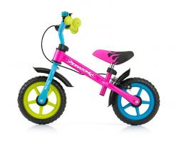 Milly Mally Walking Bike Dragon With Brake Multicolor