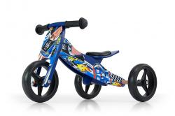 Milly Mally Ride On 2in1 Jake Blue Cars