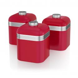Retro 3 Canisters RED SWKA1020RN