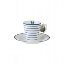 Laura Ashley filiżanka do espresso W178692 Candy Stripe