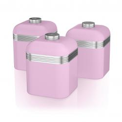 Retro 3 Canisters PINK SWKA1020PN