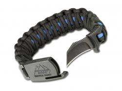 Bransoleta Outdoor Edge ParaClaw Blue Line M Blist