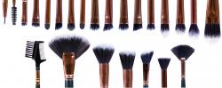 PROFESSIONAL COSMETIC BRUSH COLLECTION 24 PIECE SET - BRST - RIO
