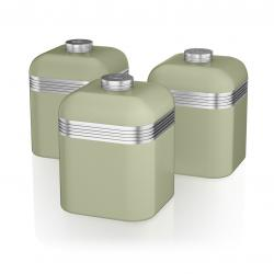 Retro 3 Canisters GREEN SWKA1020GN