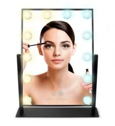 Hollywood Glamour Large Lighted Mirror - MMHL - RIO