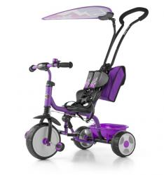 Milly Mally Rowerek Boby Deluxe 2015 Violet